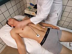 athlete medical examination