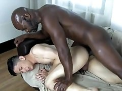 Black Daddy and Asian Twink