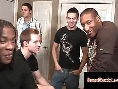 Cute gay guy in... gay,interracial,blowjob,orgy,group,twink,black