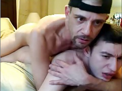 Dad Fucks His Friends Son On Cam