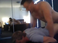 Hung Married Muscle Breeds His Young Bitch HARD