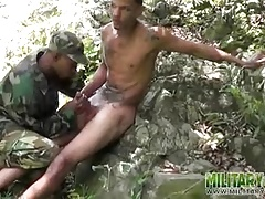 Eager bootie... Twinks (Gay);Blowjobs (Gay);Latin (Gay);Military (Gay);Outdoor (Gay);Military Lads (Gay);In the Mouth;Jungles;In Mouth;Mouth Fucked;Fucked
