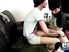 Lewis Romeo dominates Kyle Wilkinsons with his emo cock