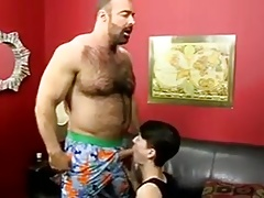Muscle guy fucks... Gay Porn (Gay);Big Cocks (Gay);Blowjobs (Gay);Muscle (Gay);Old+Young (Gay)